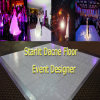 Diodo emissor de luz Starlit Dance Floor do RGB do programa do projeto do evento