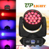 19X12W RGBW 4in1 Wash LED Mini Poutre tête mobile