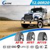 채광 조건 트럭 타이어, ECE를 레테르를 붙이는 12.00r20 범위를 가진 TBR 타이어