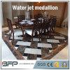 Mosaico de pedra de mármore natural quadrado do jato de água para a decoração do hotel