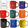 Ceramic promozionale Mug con Kinds di Color Options
