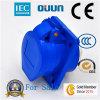 Douille de puissance industrielle de plastique d'IP44 16A