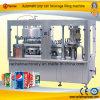 Machine remplissante aérée automatique de cachetage de bidon de boisson