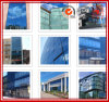 Wave에 있는 프레임 Less Glass Curtain Wall Cladding