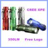 Lanterna elétrica de alumínio da emergência do diodo emissor de luz da modalidade do zoom do CREE XPE 3