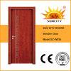 Precio más bajo rasante del diseño moderno compuesto puerta de madera (SC-W035)