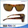 Gafas de sol polarizadas diseñador cómodo de la pesca deportiva de la tortuga para los hombres