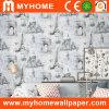 PVC impermeable Wallcovering de la venta caliente para la decoración