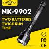 lampada di lunga durata della torcia della torcia elettrica di tempo LED delle batterie doppie di 1000m (NK-9902)