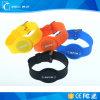Tag impermeável do Wristband do silicone RFID e de bracelete de RFID Tag