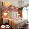 El panel decorativo suave casero del recubrimiento de paredes del interior 3D