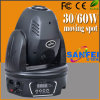 Discoteca 60W LED Mini Moving Head Spot Pattern Light