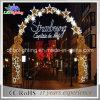 Neuer Großverkauf 2015 über Straßen-Weihnachtsbogen-Motiv-Lichtern