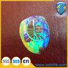 De Weerspiegelende Transparante Sticker van de regenboog met Holografische Resultaten