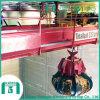 Grúa de gancho agarrador funcionada en condiciones resistentes y arduas