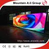Affichage polychrome d'intérieur de la qualité P6 LED TV