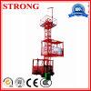 Elevador elevado Sc200 da construção da ascensão, grua da construção, tirante da construção 2 toneladas
