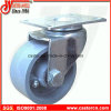 3 Inch Steel Swivel Caster mit Gray Cast Iron Wheel