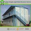 Casa prefabricada compuesta de la tarjeta del panel de emparedado del EPS