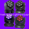 7PCS 12W RGBW Moving Head LED Night Light