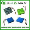 Aangepaste Capaciteit van het Pak van de Batterij van de Hoge Capaciteit van het hoge Tarief de Navulbare 3.7V