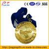 Médaille Polished élevée en métal d'épreuve de miroir