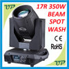 17r Sharpy 350W Beam Spot Wash 3 in 1 Moving Head