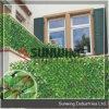 ホーム装飾の紫外線保護された人工的なBoxwoodの葉の両掛け