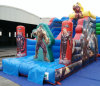 5.4X3.5X4m Famous Cartoon Commercial Inflatable SLIPおよびSlide