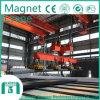 Fornitore 2016 di Shengqi gru a ponte di sollevamento del magnete da 10 tonnellate