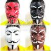 Förderung-Halloween-Partei-Schablone V für Vendetta-Schablone