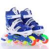 シンプルな設計はインラインローラースケートの靴の調節可能なスケートをからかう