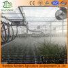 Sistema de riego por aspersión para invernadero