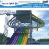 Напольные самые большие спортивные площадки скольжения воды приключения (M11-04803)