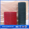 PVC galvanizado recubierto de malla de alambre soldado de fábrica