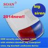 Neues Design Wired \ Wireless 120db Waterproof Siren, Security Alarm Panel Siren, Voice Recordable Strobe Siren