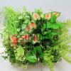 Planta verde artificial de la hierba del jardín