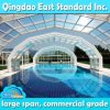 Telhados comerciais motorizados personalizados da piscina da grande extensão