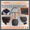 携帯用太陽60のLEDのキャンプのランタンUSBのアウトレットの振動ハンドルのハングのホック