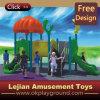 Equipamento ao ar livre plástico do campo de jogos do divertimento das crianças (X1432-12)