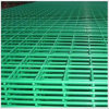 Panneau soudé enduit par PVC vert de treillis métallique