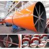 Type orizzontale Rotary Drum Dryer per Clay