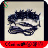 Wasserdichte Streifen-Weihnachtszeichenkette-Leuchten des Schwarz-LED