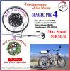Magische Pastei 4 de Elektrische Motor van de Fiets 500W-1000W met LCD Vertoning, Ingebouwd Programmeerbaar Controlemechanisme