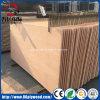 madera contrachapada comercial chapeada 18m m natural del álamo del roble rojo de 12m m