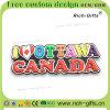 캐나다 (RC-CA)를 위한 3D 디자인을%s 가진 주문을 받아서 만들어진 승진 선물 냉장고 자석