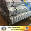 Gi Galvanized Steel Pipe con Couplings e Caps Bsp NPT
