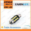Car를 위한 백색 Canbus LED Festoon Light 4.5W Reading Lamp