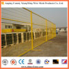 電流を通されたおよび粉の上塗を施してある一時塀の一時囲う携帯用塀