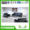 黒いカラー設計事務所の家具の革ソファー(OF-16)